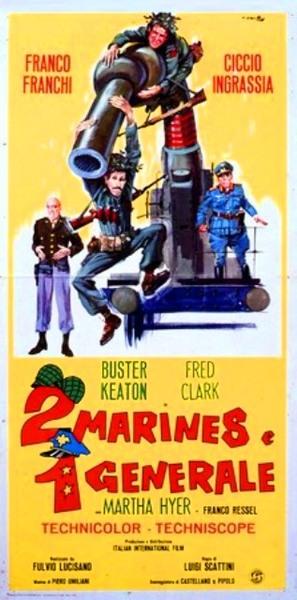 Due marines e un generale - Italian Movie Poster (thumbnail)