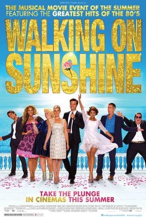 Walking on Sunshine - British Movie Poster (thumbnail)