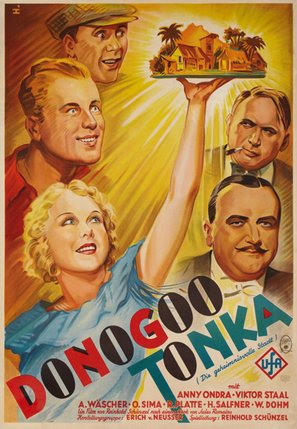 Donogoo Tonka - German Movie Poster (thumbnail)