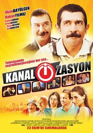 Kanal-i-zasyon - Turkish Movie Poster (thumbnail)