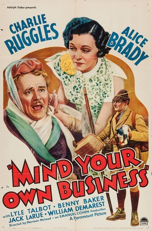 Mind Your Own Business - Movie Poster (thumbnail)
