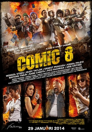 Comic 8 - Indonesian Movie Poster (thumbnail)