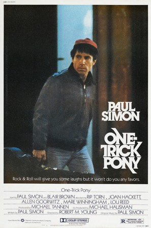 One Trick Pony - Movie Poster (thumbnail)