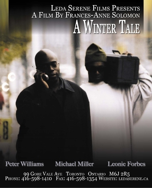 A Winter Tale - Canadian Movie Poster (thumbnail)