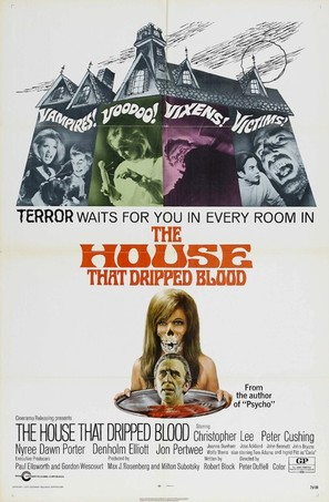The House That Dripped Blood - Movie Poster (thumbnail)