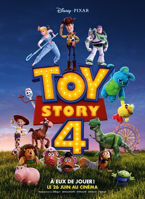 Toy Story 4 - French Movie Poster (thumbnail)