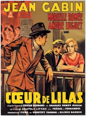 Coeur de lilas - French Movie Poster (thumbnail)