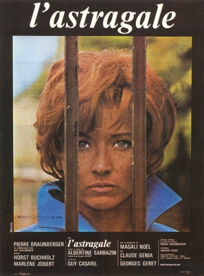 L'astragale - French Movie Poster (thumbnail)