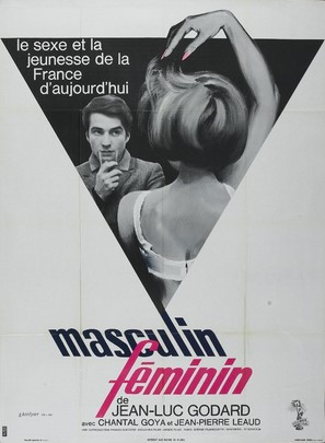 Masculin, féminin: 15 faits précis - French Movie Poster (thumbnail)