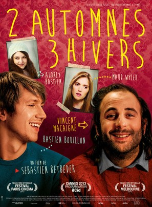 2 automnes 3 hivers - French Movie Poster (thumbnail)