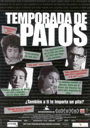 Temporada de patos - Spanish Movie Poster (thumbnail)