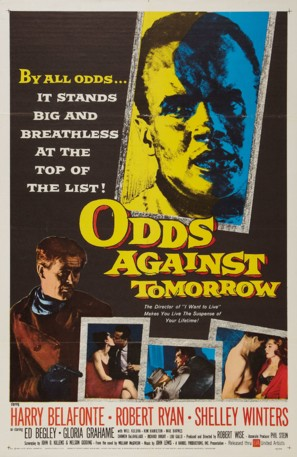 Odds Against Tomorrow - Movie Poster (thumbnail)