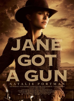 Jane Got a Gun - French Movie Poster (thumbnail)