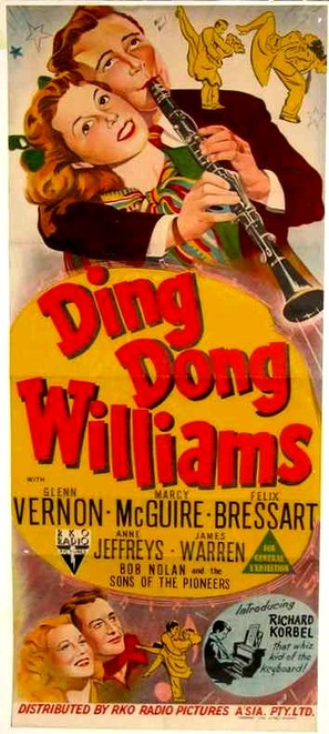 Ding Dong Williams - Australian Movie Poster (thumbnail)
