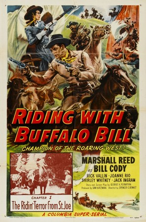 Riding with Buffalo Bill - Movie Poster (thumbnail)