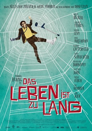 Das Leben ist zu lang - German Movie Poster (thumbnail)