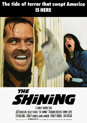 The Shining - British Movie Poster (thumbnail)