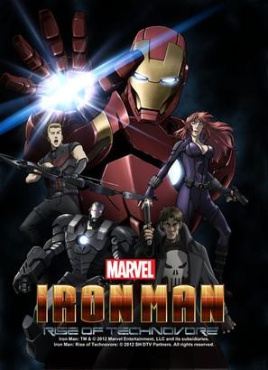 Iron Man: Rise of Technovore - Movie Poster (thumbnail)