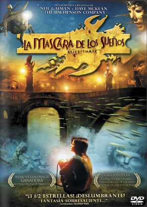 Mirror Mask - Argentinian DVD cover (thumbnail)
