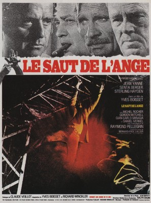 Le saut de l'ange - French Movie Poster (thumbnail)