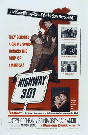 Highway 301 - Movie Poster (thumbnail)