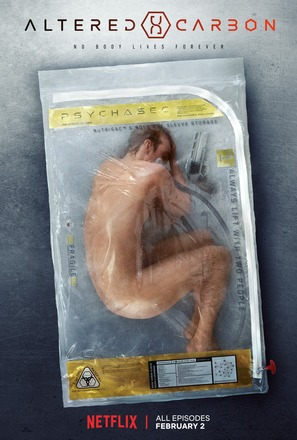 """""""Altered Carbon"""" - Movie Poster (thumbnail)"""