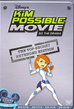 Kim Possible: So the Drama - DVD cover (thumbnail)