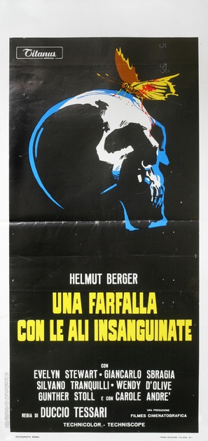 Una farfalla con le ali insanguinate - Italian Movie Poster (thumbnail)