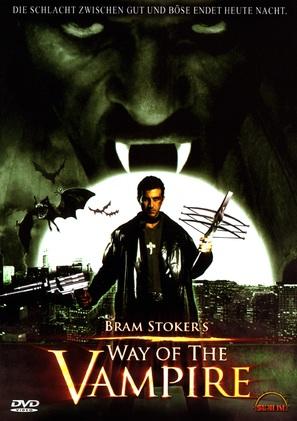Way of the Vampire - German poster (thumbnail)