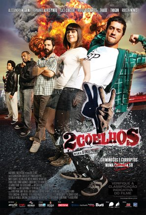 Dois Coelhos - Brazilian Movie Poster (thumbnail)