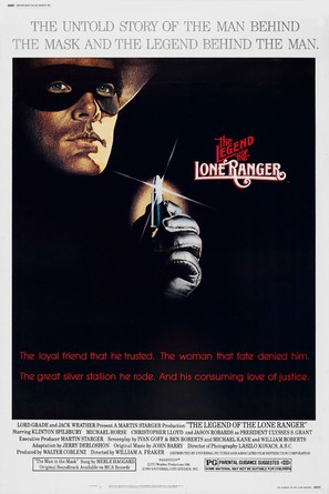 The Legend of the Lone Ranger - Movie Poster (thumbnail)