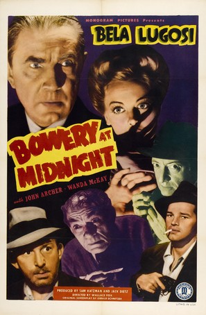 Bowery at Midnight - Movie Poster (thumbnail)