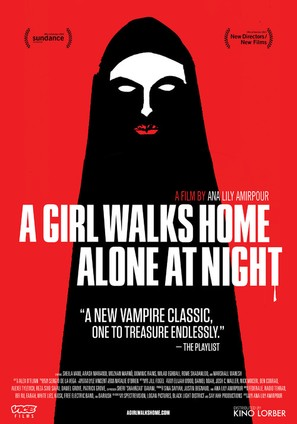 A Girl Walks Home Alone at Night - Movie Poster (thumbnail)
