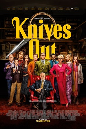 Knives Out - Movie Poster (thumbnail)