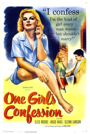 One Girl's Confession - Movie Poster (thumbnail)