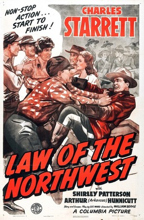 Law of the Northwest - Movie Poster (thumbnail)