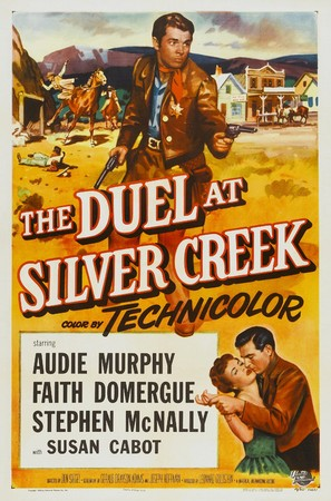 The Duel at Silver Creek - Theatrical poster (thumbnail)