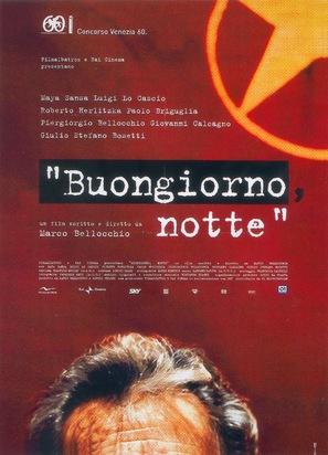 Buongiorno, notte - Italian Movie Poster (thumbnail)