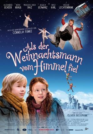 Als der Weihnachtsmann vom Himmel fiel - German Movie Poster (thumbnail)
