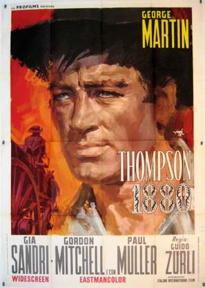 Thompson 1880 - Italian Movie Poster (thumbnail)