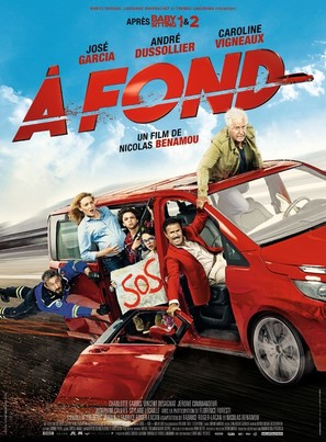 À fond - French Movie Poster (thumbnail)