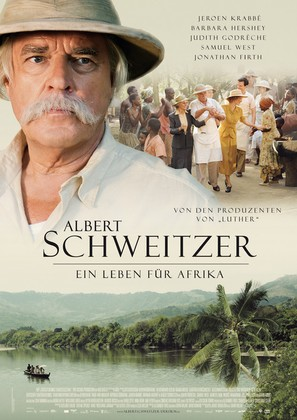 Albert Schweitzer - German Movie Poster (thumbnail)