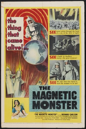 The Magnetic Monster - Movie Poster (thumbnail)