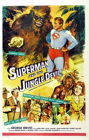 Superman and the Jungle Devil - Movie Poster (thumbnail)