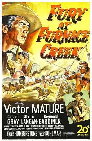 Fury at Furnace Creek - Movie Poster (thumbnail)