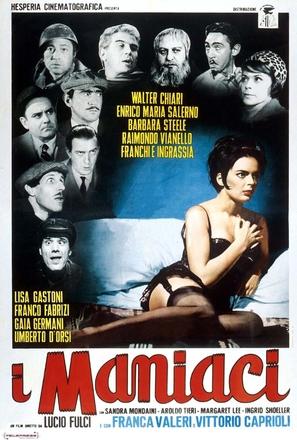 I maniaci - Italian Movie Poster (thumbnail)