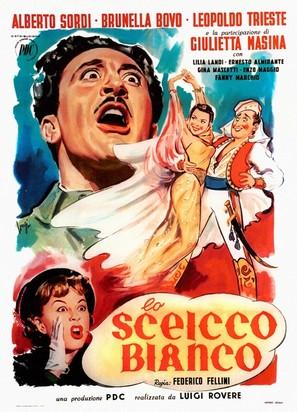 Lo sceicco bianco - Italian Movie Poster (thumbnail)