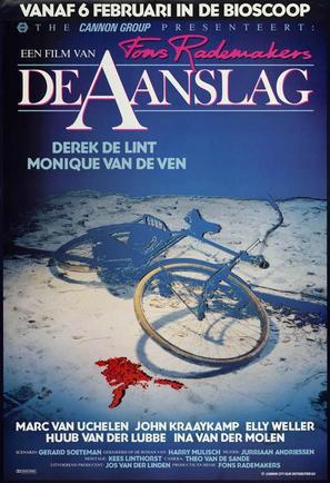 Aanslag, De - Dutch Movie Poster (thumbnail)