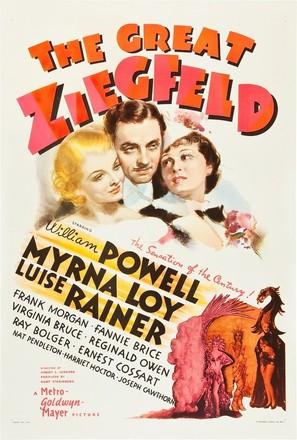 The Great Ziegfeld - Movie Poster (thumbnail)