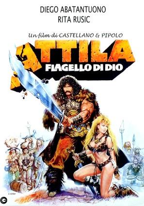 Attila flagello di Dio - Italian Movie Poster (thumbnail)